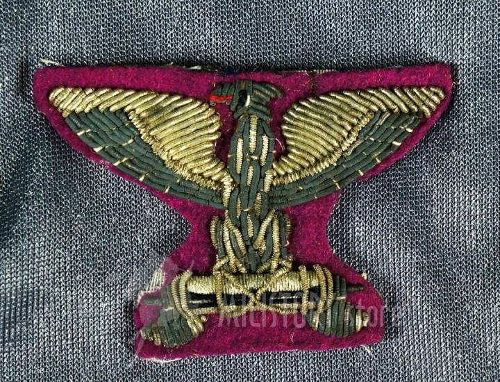 Aquila R.S.I. Polizia Repubblicana con doppia scure 1944