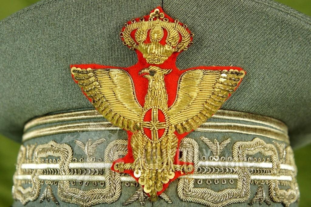 Berretto da Generale di Corpo d'Armata Mod. 34 appartenuto al Generale De Benedetti Regio Esercito periodo fascista 1936 Seconda Guerra Mondiale (10)