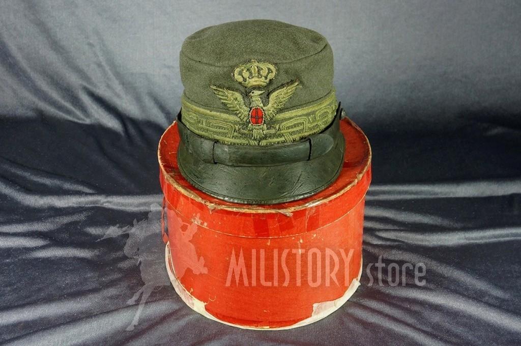 Raro berretto da Maggior Generale in Comando di Brigata modello 909 Regio Esercito Prima Guerra Mondiale Grande Guerra 1915 (2)