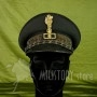 Berretto Gerarca PNF Ruolo GIL Segretario Federale fascista uniforme nera fez (1)