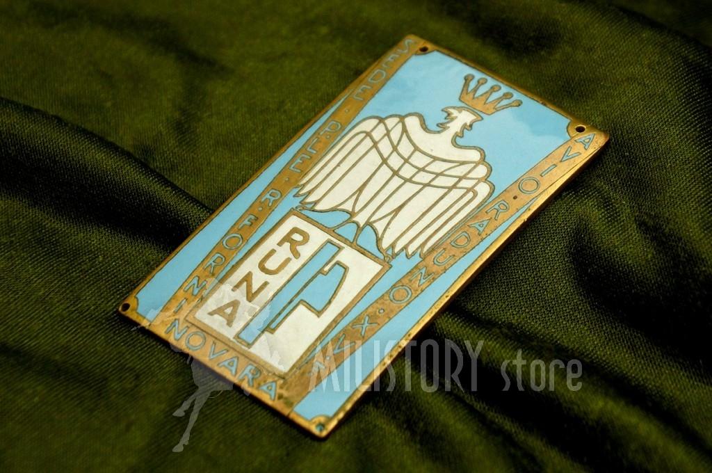 Distintivo Giro Aereo NOVARA 1937 Avio Raduno RUNA Regia Aeronautica Balbo PNF (3)